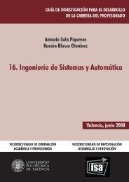 16. Ingenieria de Sistemas y Automática - Universidad Politécnica ...