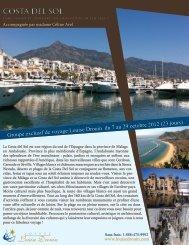 costa del sol costa del sol - Agence voyage Louise Drouin