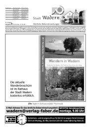 SG Noswendel/Wadern - VfL Primstal - Stadt Wadern