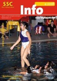 56686_Info 0408.indd - Sport und Schwimmclub Karlsruhe eV