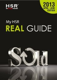 My HSR Real Guide 5th Issue (April-June 2013)