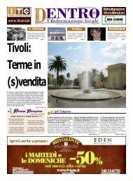 Tivoli - La Voce del Nord Est Romano