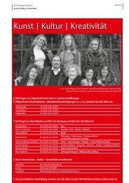 VHS-Programm 2-2012: Kunst, Kultur, Kreativität - Stadt Köln