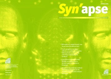 SYNAPSE Spring 2004 - acpin