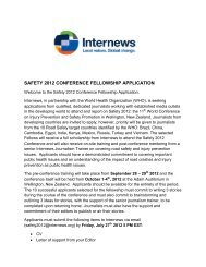 application forms - Internews in Kenya
