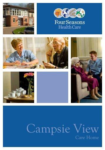 Campsie View Brochure - Four Seasons Health Care