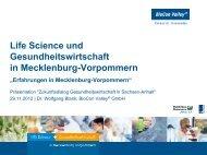 Dr. Wolfgang Blank, Geschäftsführer BioTechnikum - Wirtschaftsrat ...