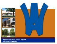 2013-14 Printable Calendar - Wyomissing Area School District