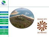 Les Grands Sites - Tourism System