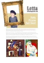 Pablo Picasso Fact Sheet - Lotta Magazine