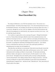 Chapter Three Most Electrified City - W2agz.com
