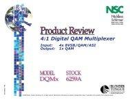 DQMx Digital QAM Multiplexer