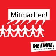 Mitmachen! - DIE LINKE. Berlin