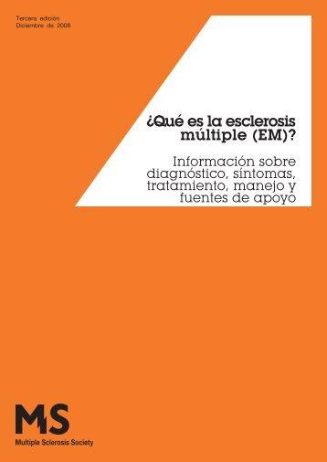 Qué es la EM - Multiple Sclerosis Society