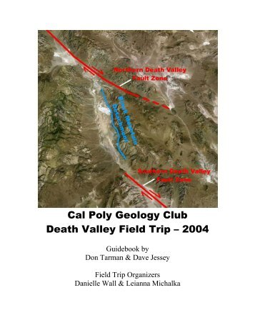 Cal Poly Geology Club Death Valley Field Trip – 2004