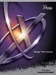 XBridge HPLC Columns - Waters
