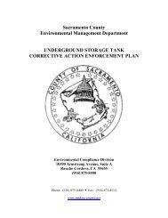 UST Corrective Action Enforcement Plan - Environmental ...