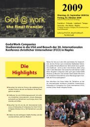 Die Highlights - CROWN Life Schweiz