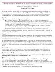 AVID application.indd - The Denver Foundation