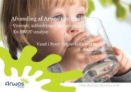 Afvanding af ARWOS nye center (1.2 MB) - Vand i Byer