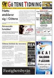 Vecka 2 - Götene Tidning