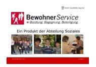 BewohnerService - Beratung. Begegnung ... - Stadt Salzburg