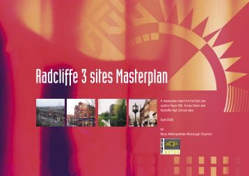Radcliffe 3 sites Masterplan - Urbed