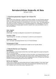 Betriebsrichtlinien - Ali Baba