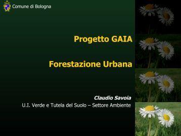 Il verde pubblico del Comune di Bologna