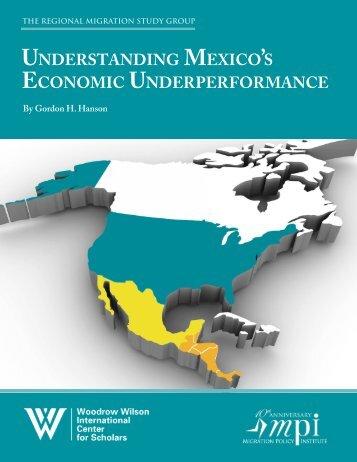 Understanding Mexico's Economic Underperformance