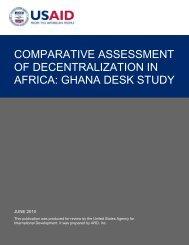 Ghana Desk Study - Washington and Lee University