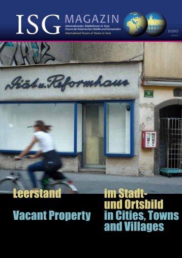 download Heftinhalt PDF - Österreichische Gesellschaft für Denkmal