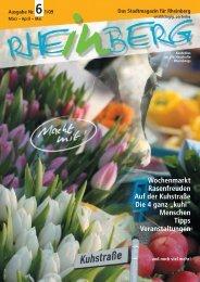 Stadtmagazin Rheinberg ? Ausgabe Nr.6