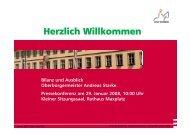 Aufstellung des Bebauungsplanes beschlossen ... - Stadt Bamberg
