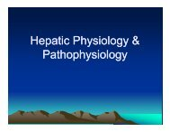 Hepatic Physiology & Pathophysiology - Arapahoe High School