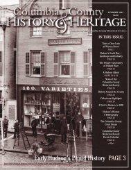 Bruce Hall - Columbia County Historical Society
