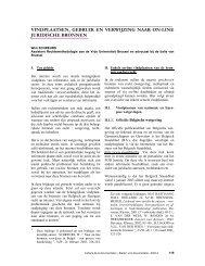 vindplaatsen, gebruik en verwijzing naar on-line - ABD-BVD