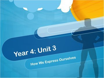 Year 4: Unit 3