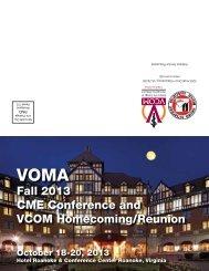 VOMA - VCOM - Virginia Tech