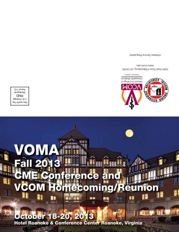 VOMA - VCOM - Virginia Tech