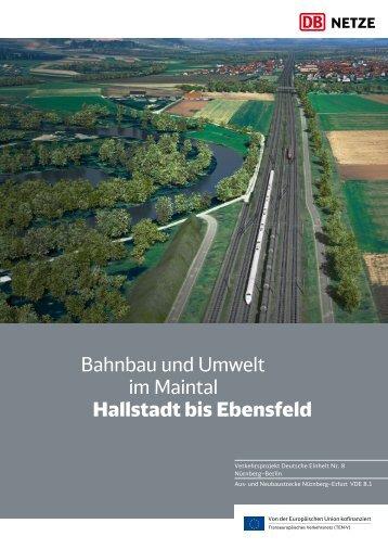 Bahnbau und Umwelt im Maintal Hallstadt bis Ebensfeld Download ...