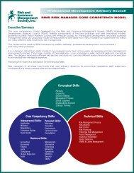 Risk Manager Core Competencies - RIMS