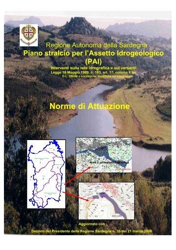 Norme di attuazione del Pai - Comune di Sassari