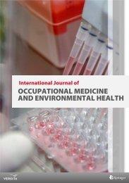 occupational medicine and environmental health - Versita