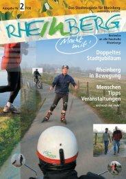Stadtmagazin Rheinberg • Ausgabe Nr.2