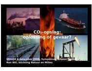 CO2-opslag: oplossing of gevaar? - CO2 - CATO