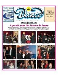 A grande noite dos 10 anos do Dance A grande noite dos 10 anos