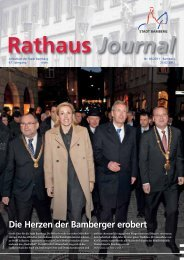 Rathaus Journal Nr. 05 vom 25.02.2011 - Stadt Bamberg