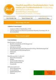 Staatlich geprüfte(r) Kaufmännische(r) - Berufskolleg Castrop-Rauxel