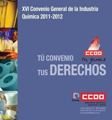 documento - Federación de Industrias Textil, Piel, Químicas y Afines ...